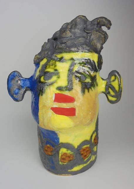 Mary Jones Ceramics. I feel alive.  SOLD