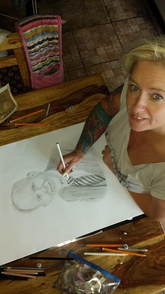 Stephanie Hanlon drawing