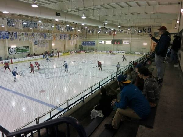 Germain Arena - Blue Rink