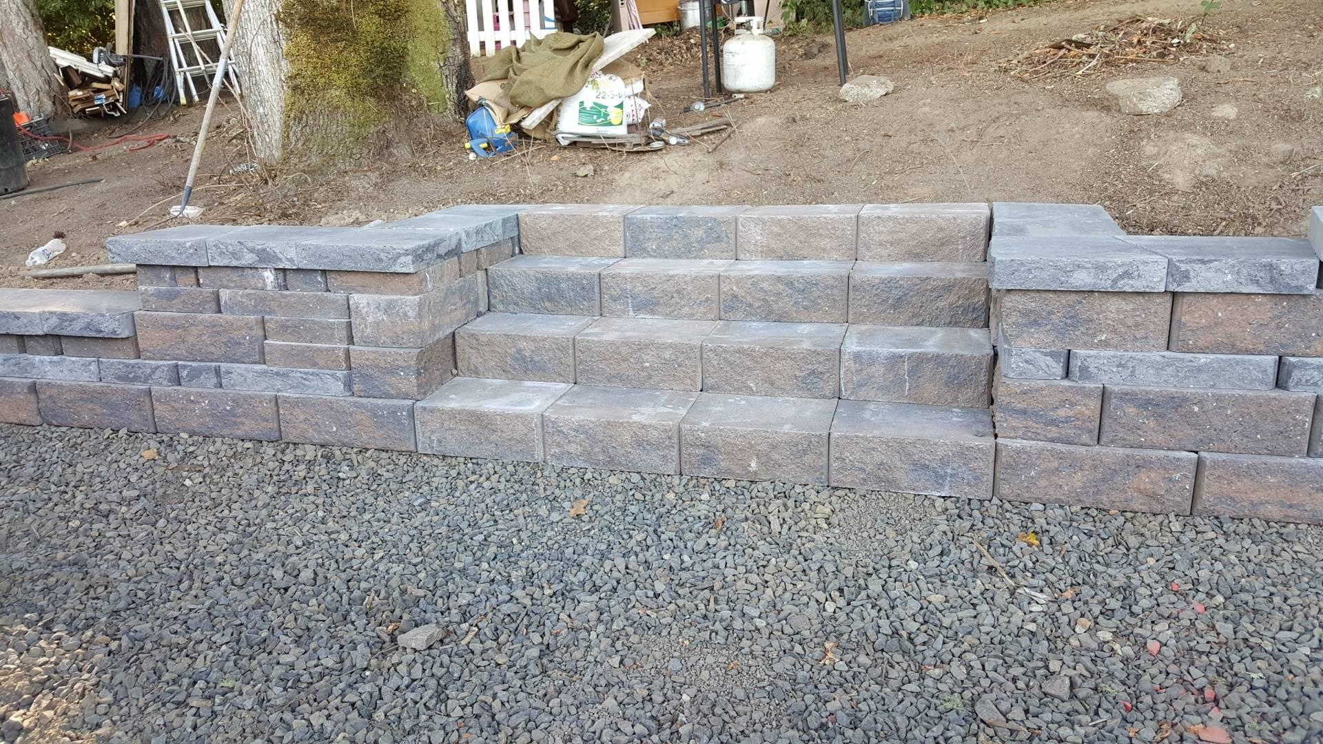 Retaining Wall, Hillsboro OR