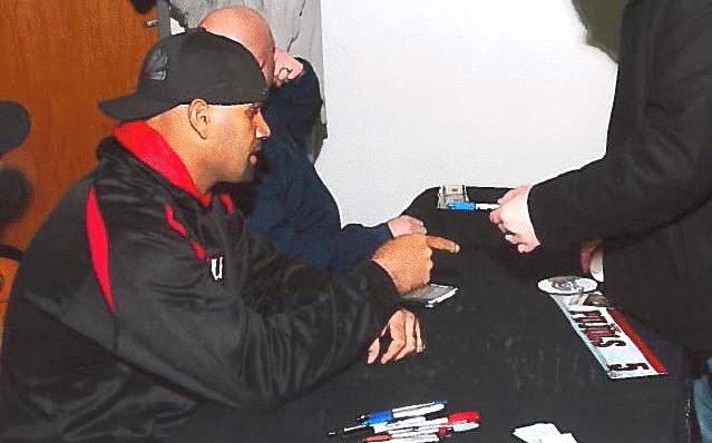 Albert Pujols Signed 2011 Opening Day Locker Room Name Plate