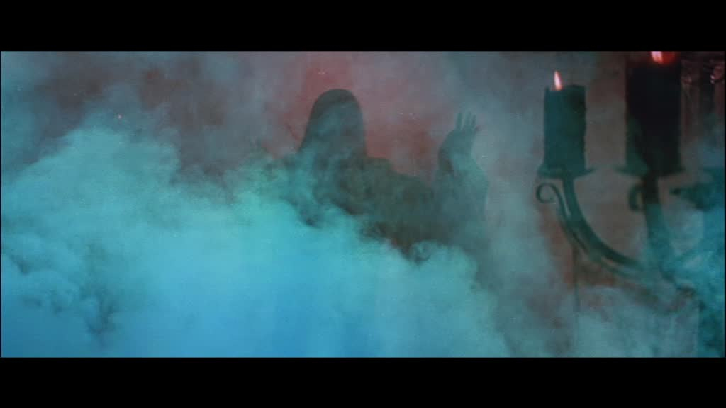 It's that smoke thing ,famous in Hammer Horror