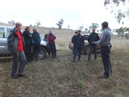 St Arnaud Field Naturalists at Nardoo Hills