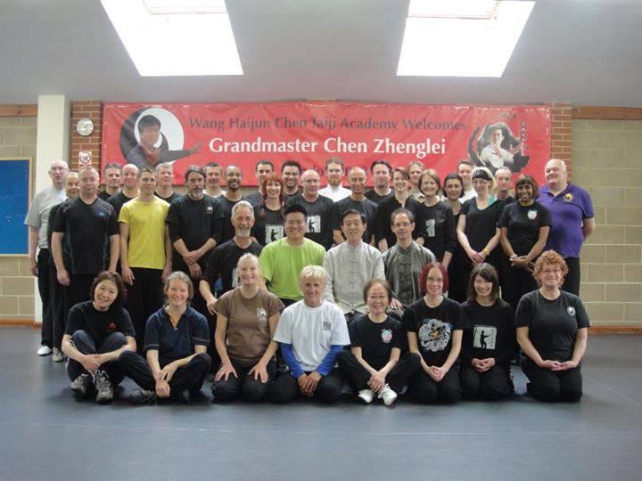 2013 London seminar with Grandmaster Chen Zhenglei