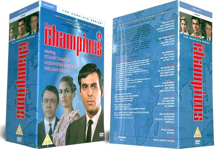 The Champions - Complete Series DVD Set (UK reg. 2 release)