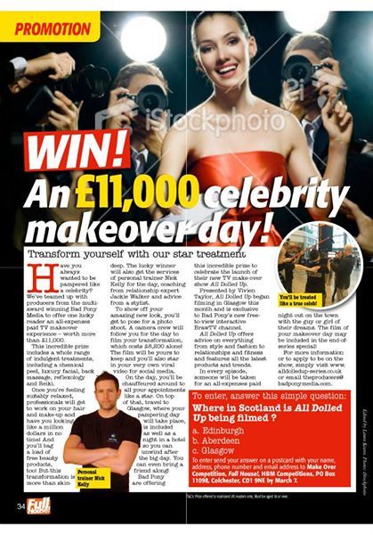 WIN A £12k MAKEOVER: