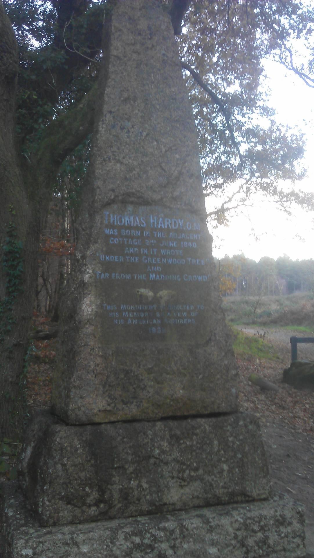 Thomas Hardy stone