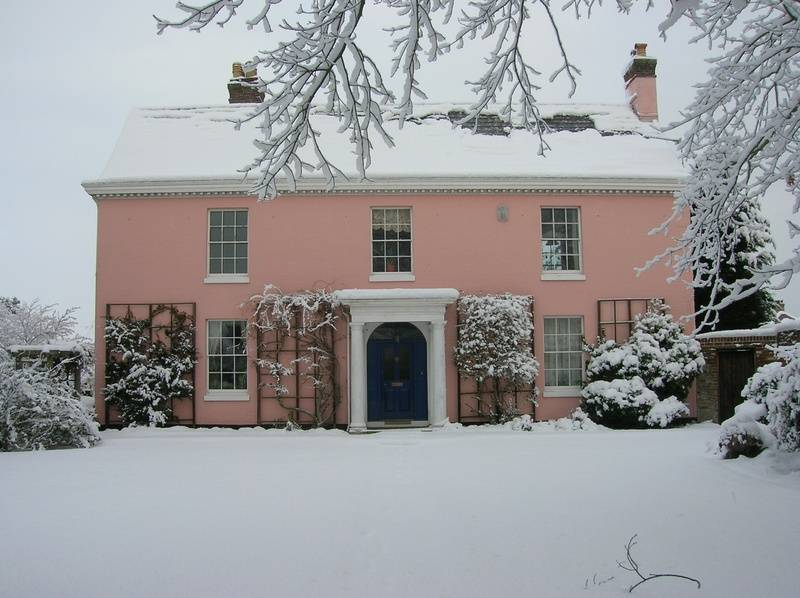 Snow 2010 - frontage