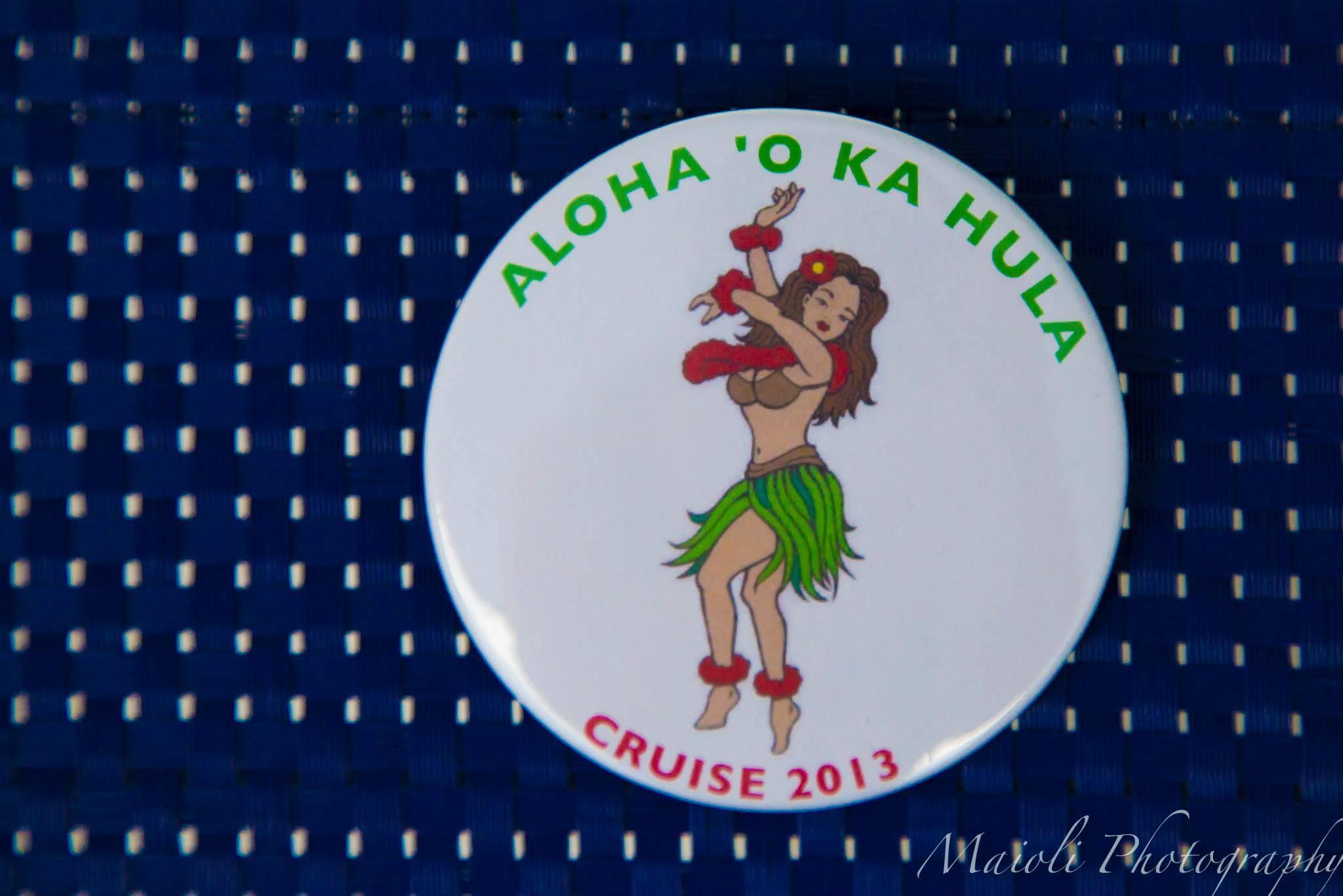 Aloha 'O Ka Hula's Travel Button