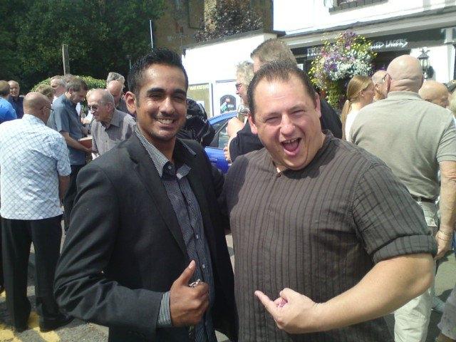 Steve Lynskey and Sanjay Bagga