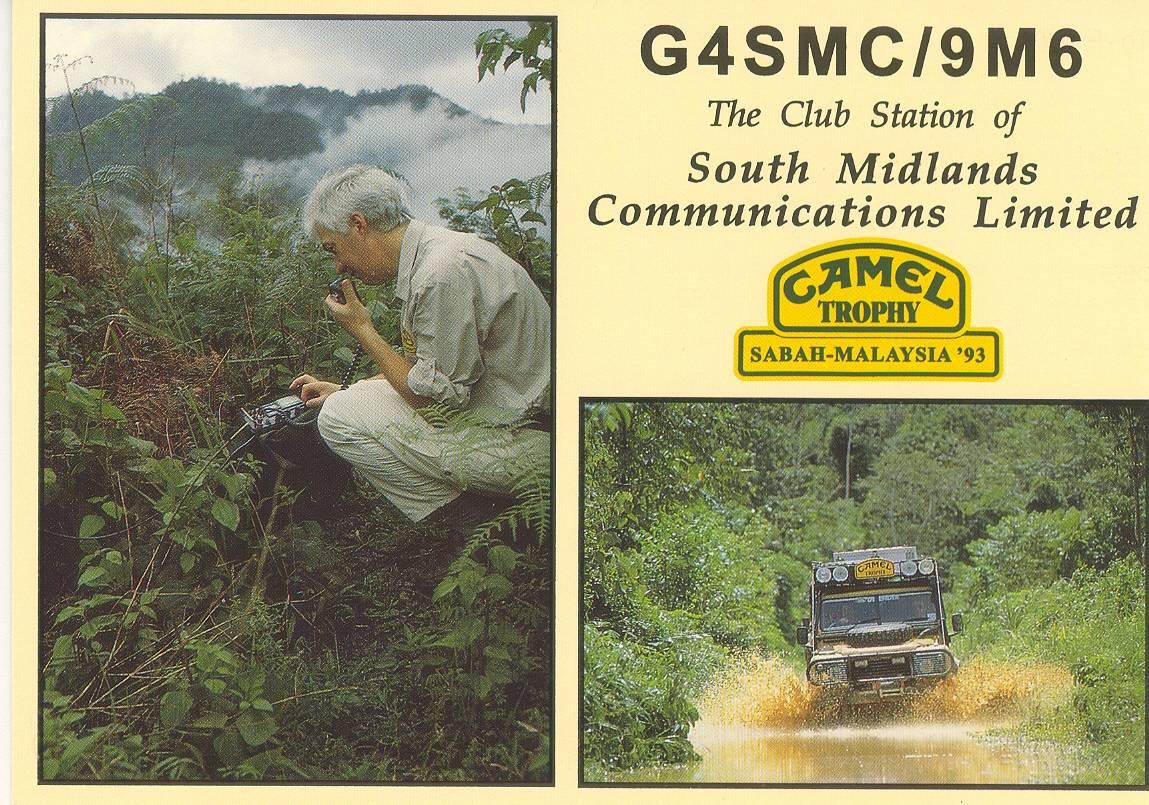 G4SMC/9M6 Qsl card
