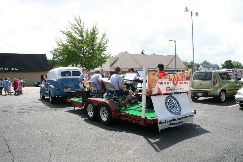 Janesville LaborFest Parade 2013