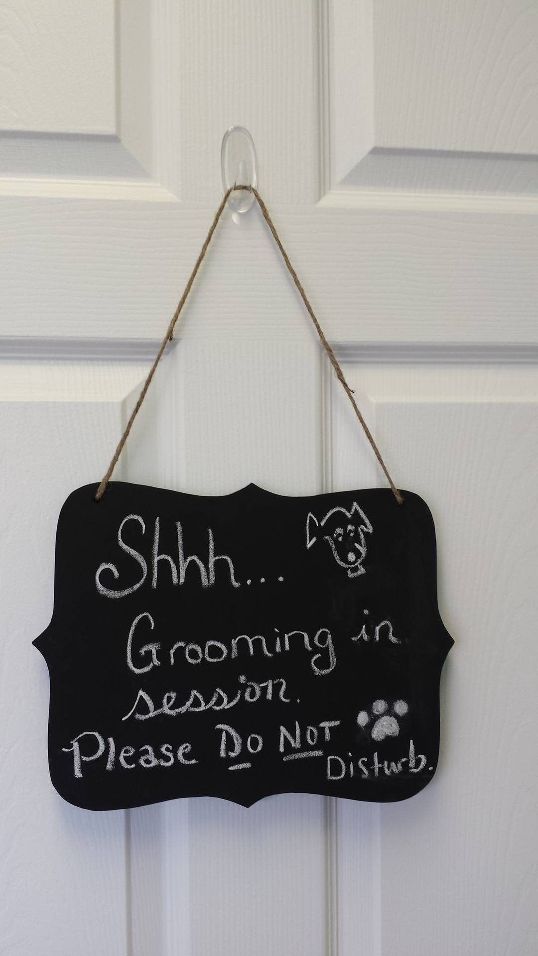 Entrance to Grooming Area