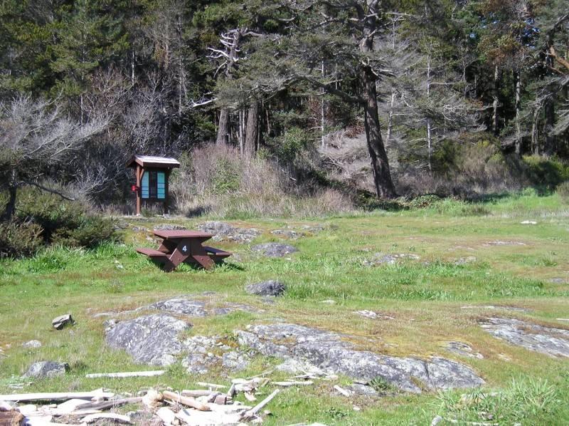 Discovery Island Marine Provincial Park Campground