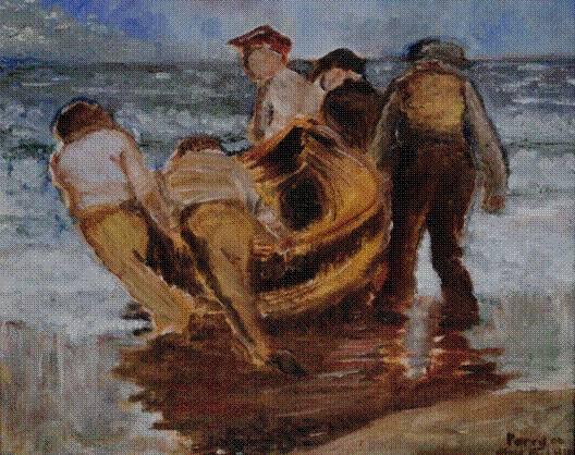 Boatmen (after Henry)
