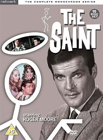 The Saint - Monochrome Series DVD Set - (UK reg. 2 release)