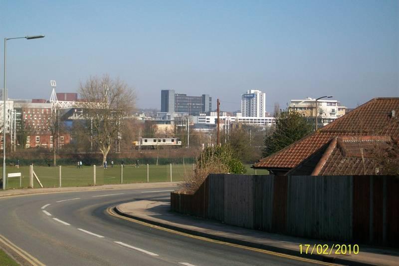 Ipswich From Birkfield Drive