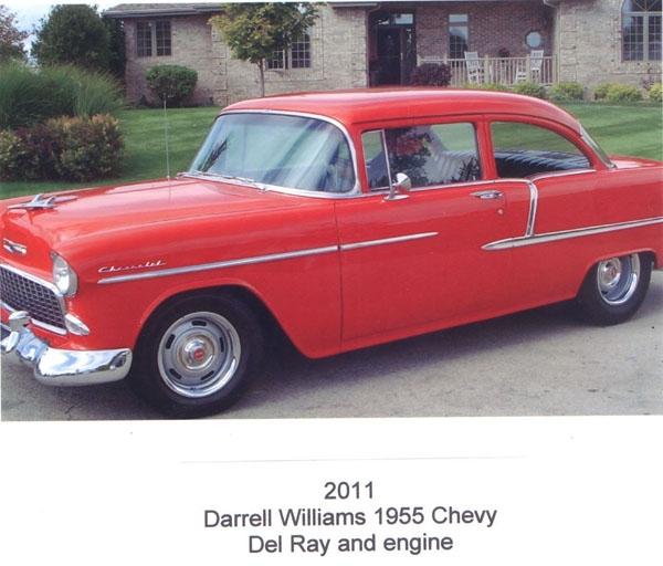 Darrell Williams' 1955 Chevy Del Ray