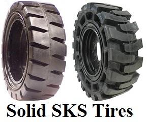 Solid SKS Tires