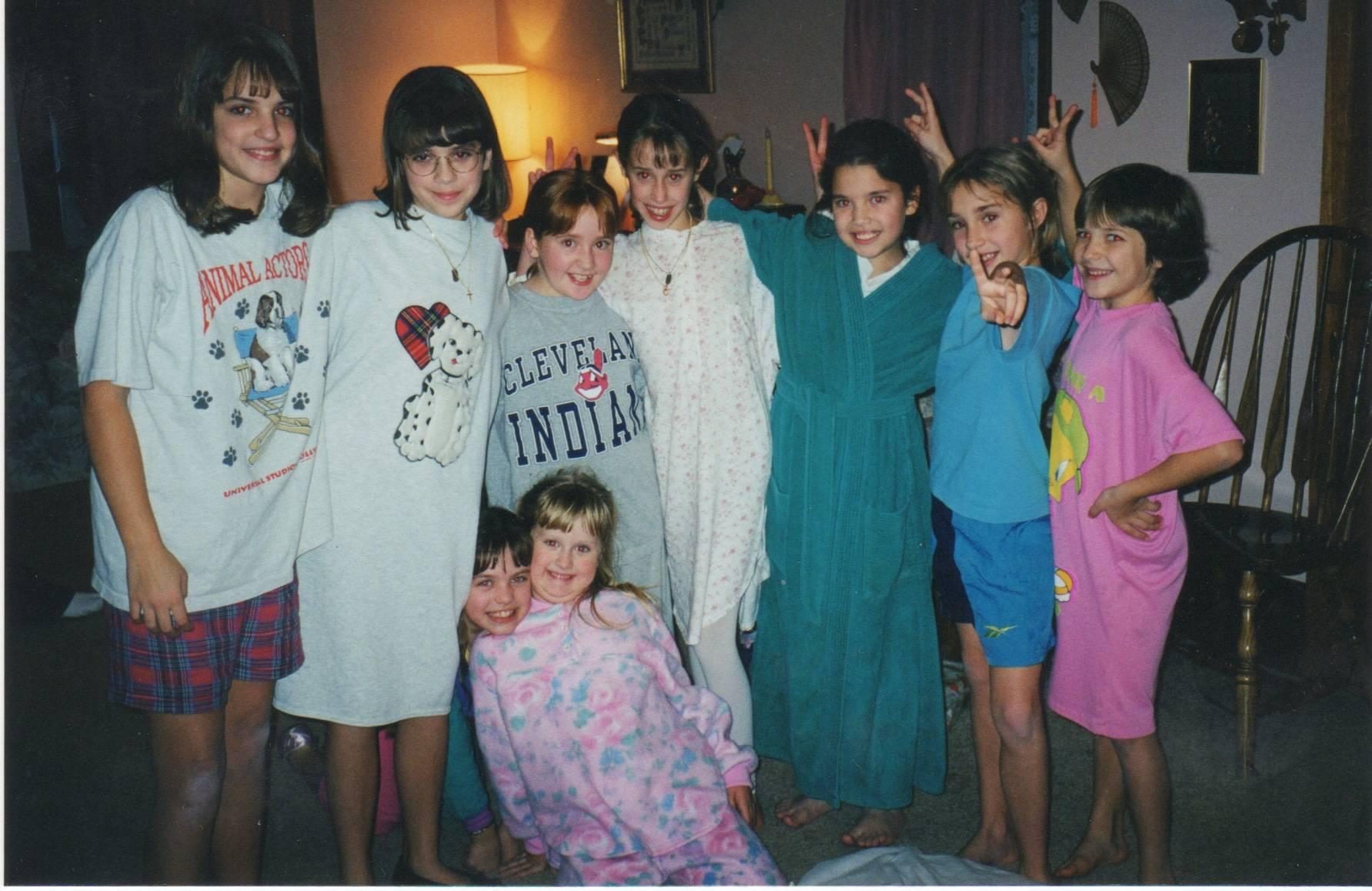 The praise dance little girls