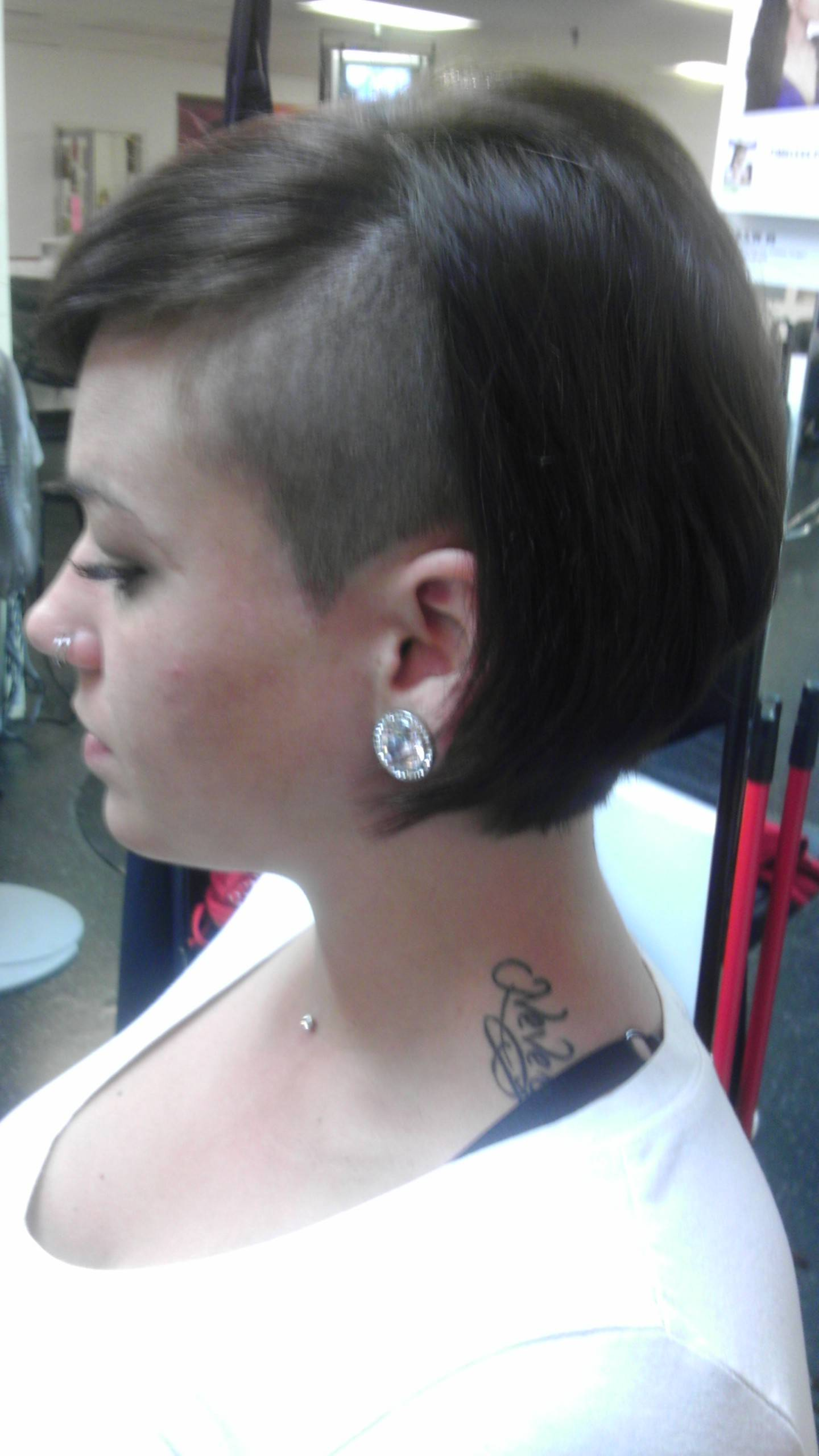 2-part cut and style