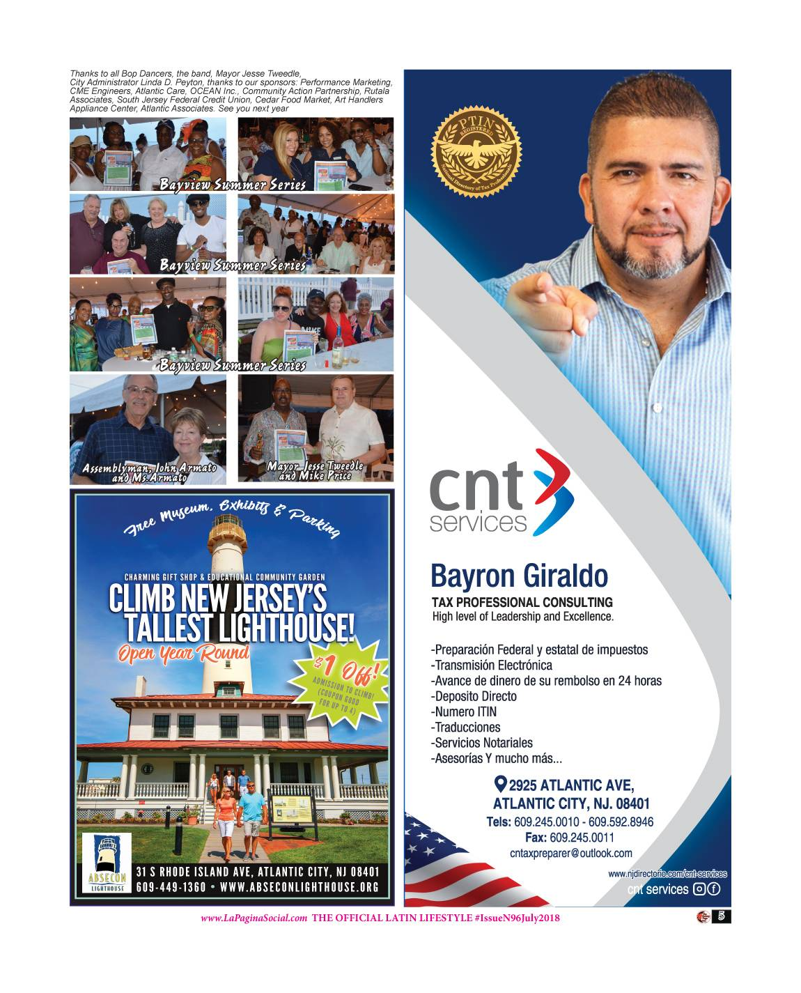 5 The Society Page en Espanol Issue N96 July 2018