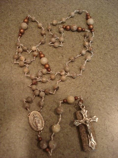 Petoskey Stone Rosary
