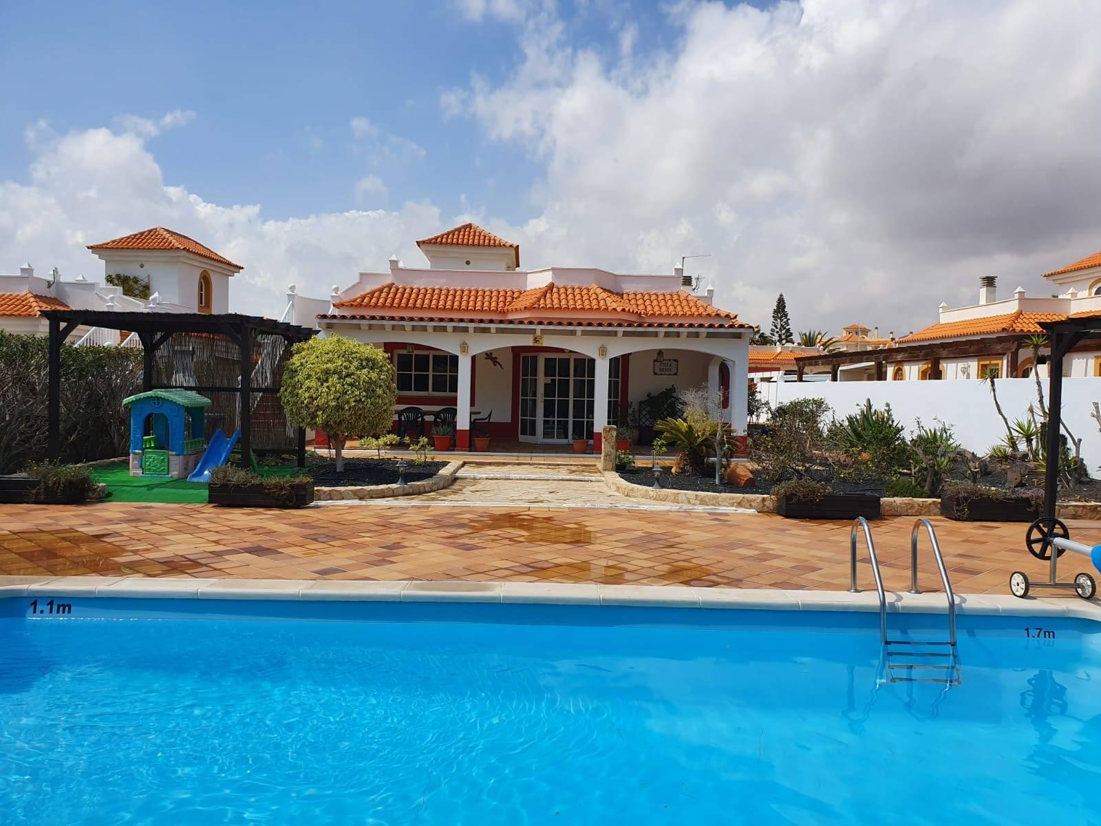 Rear View of Casa De Rossi