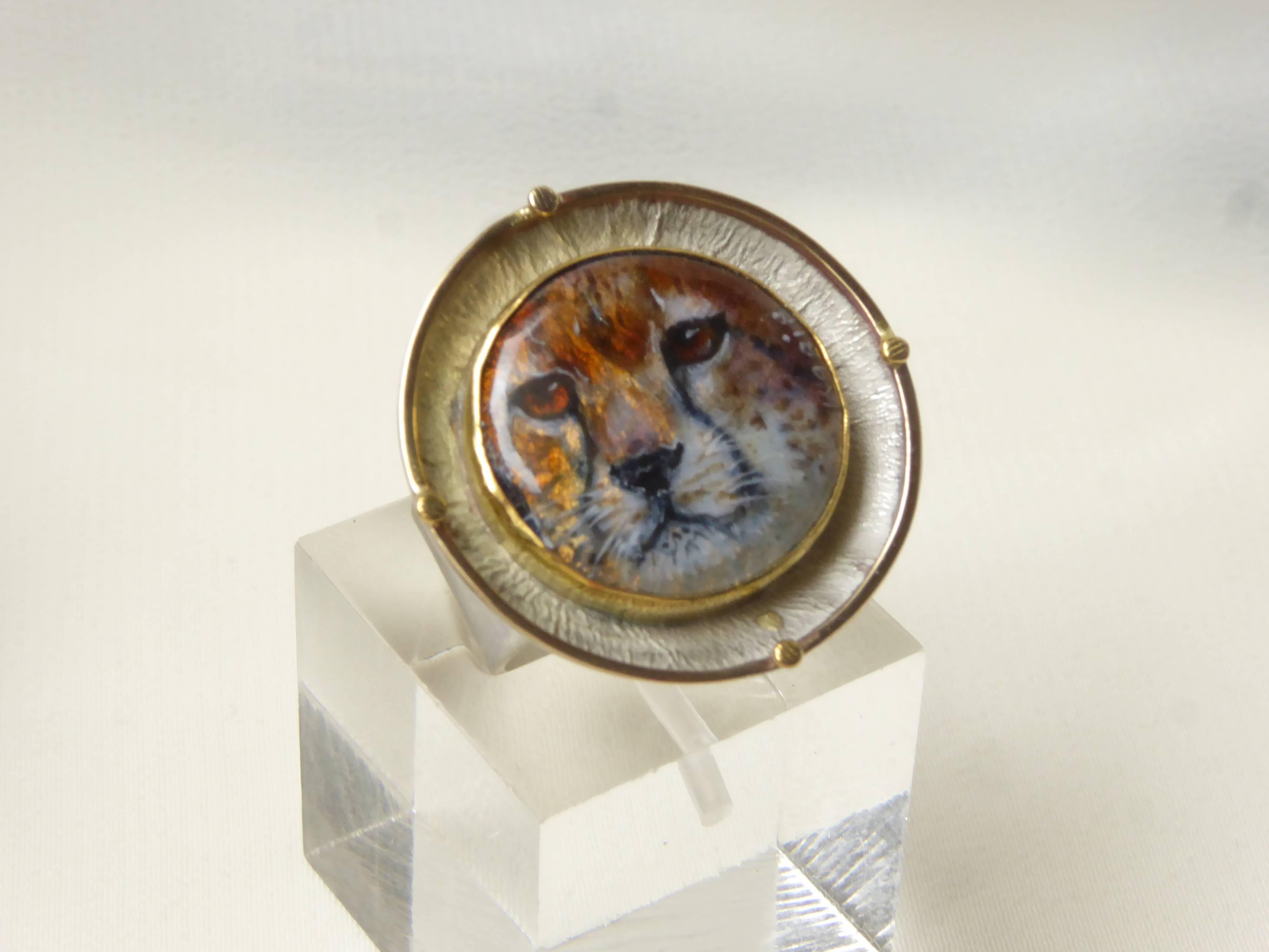 Cheetah Portrait - SOLD
