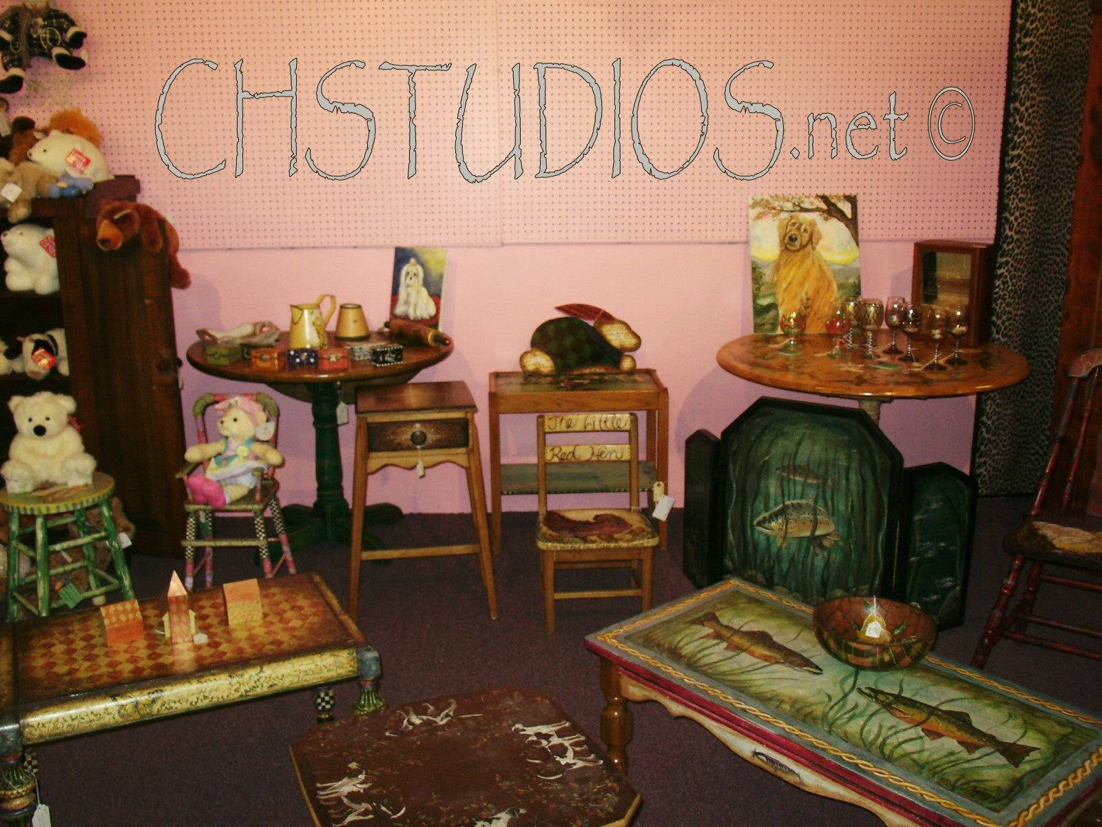 Hand painted Furniture and Accessories