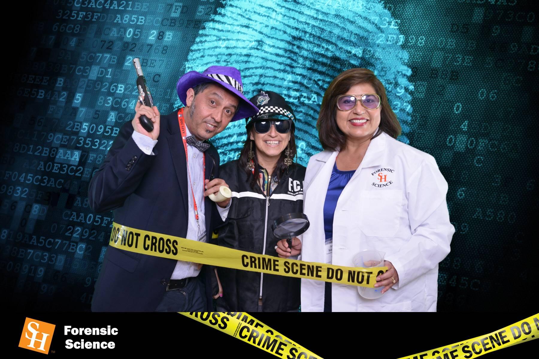 crime, Green Screen Photo Booth
