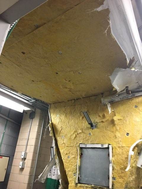 Mold Remediation Building 59 McNair
