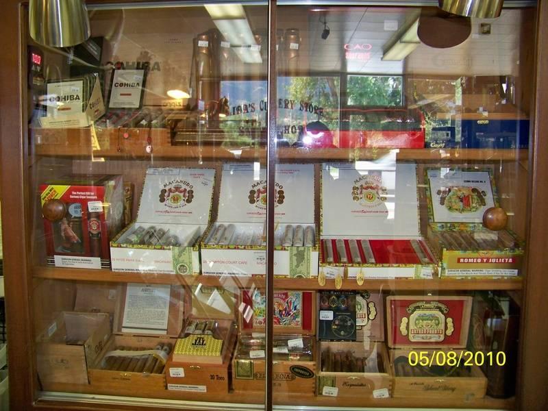 Salida Cutlery and Smoke Shop Humidor
