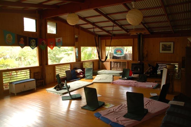 The indoor classroom