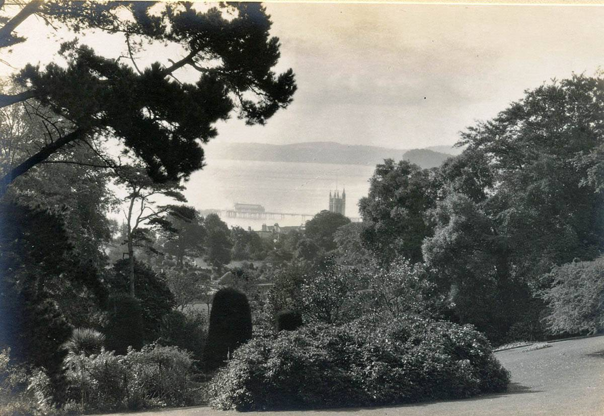 View from the Rowdens 1926