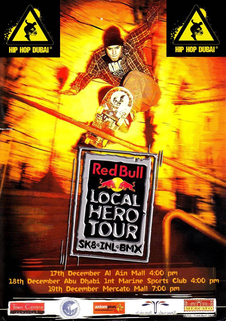 RED BULL LOCAL HERO TOUR 2004 - 02