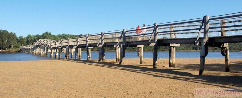 Valla beach bridge