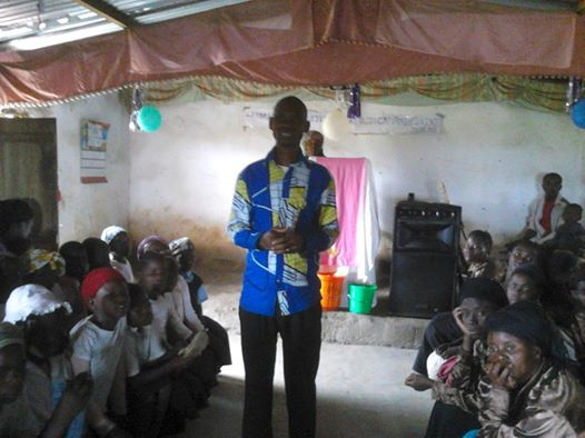 Pastor Mika Moses -Eden Church in Malawi