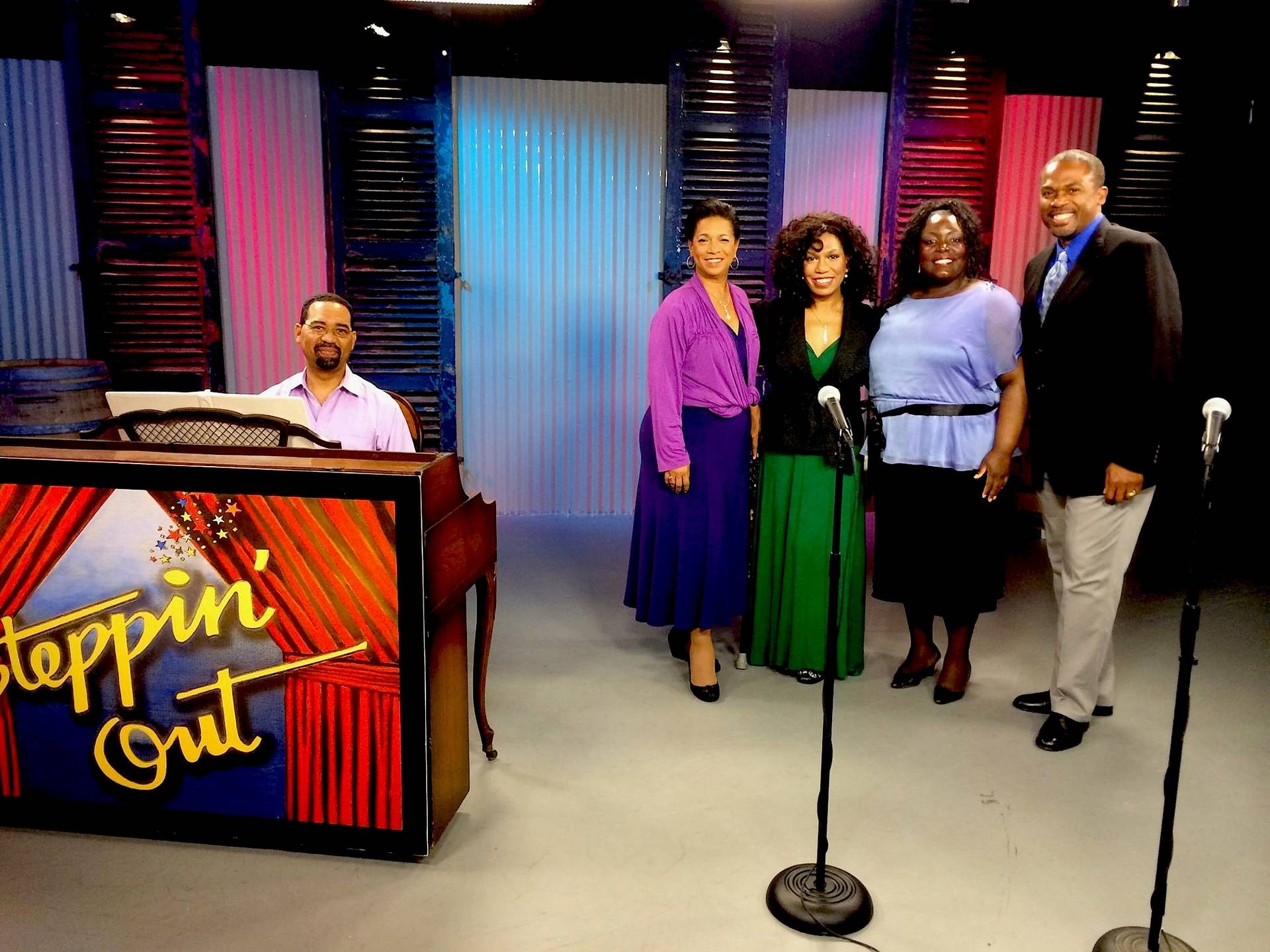 """ON WYES TV """"Steppin Out"""" 7/10/15"""