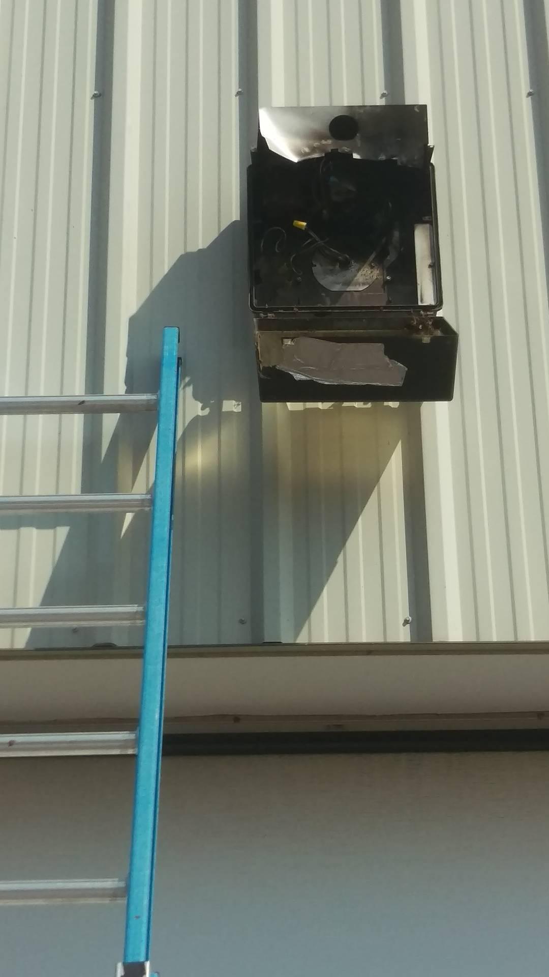 Breaker tripping for exterior lights!