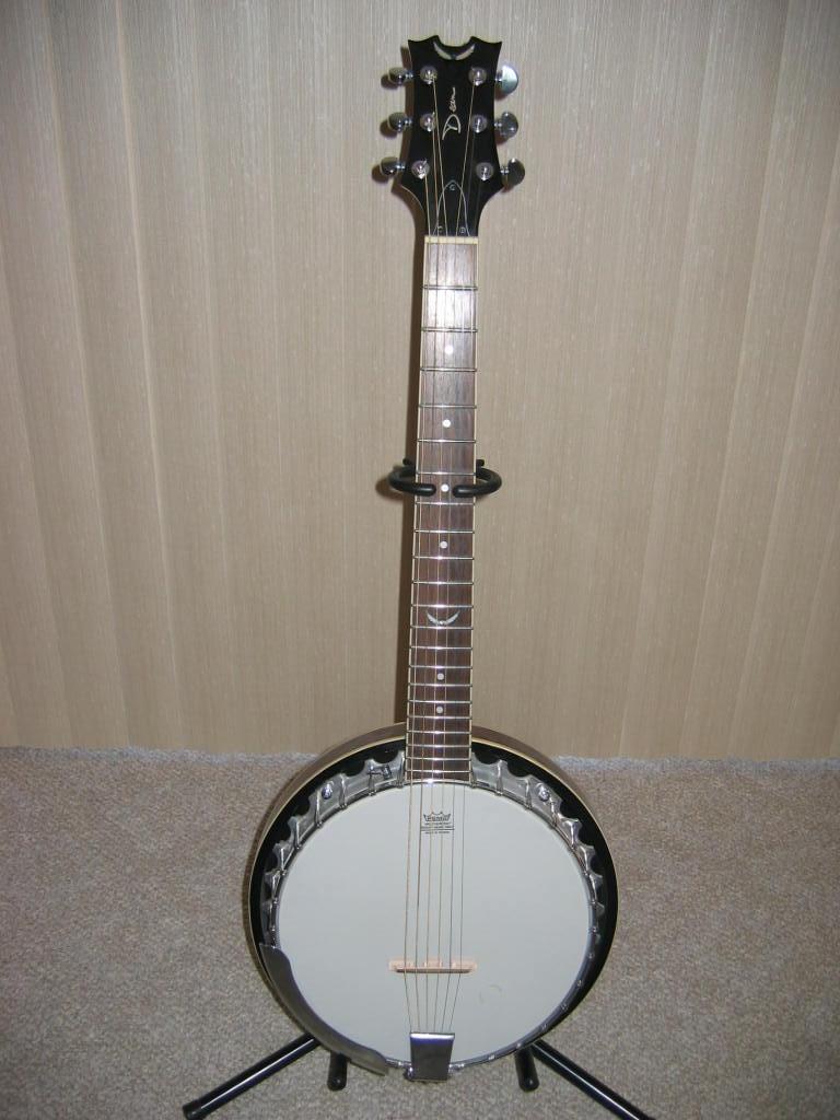 Dean Backwoods 6 String Banjo.
