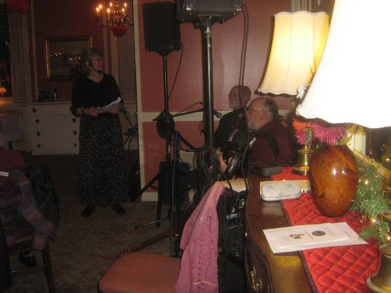 Entertainment at the Dutch Settler Party