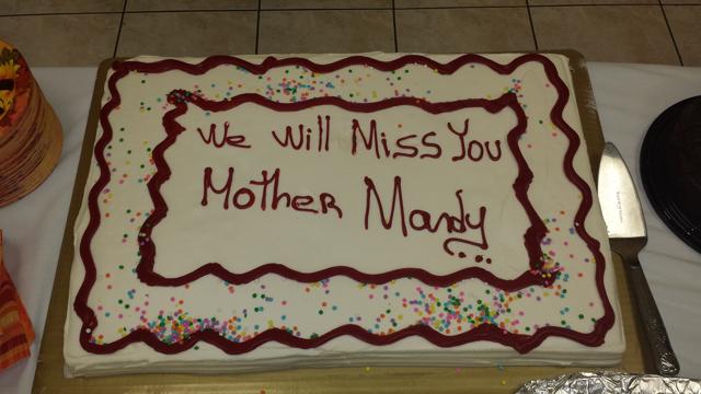 farewell mother mandy