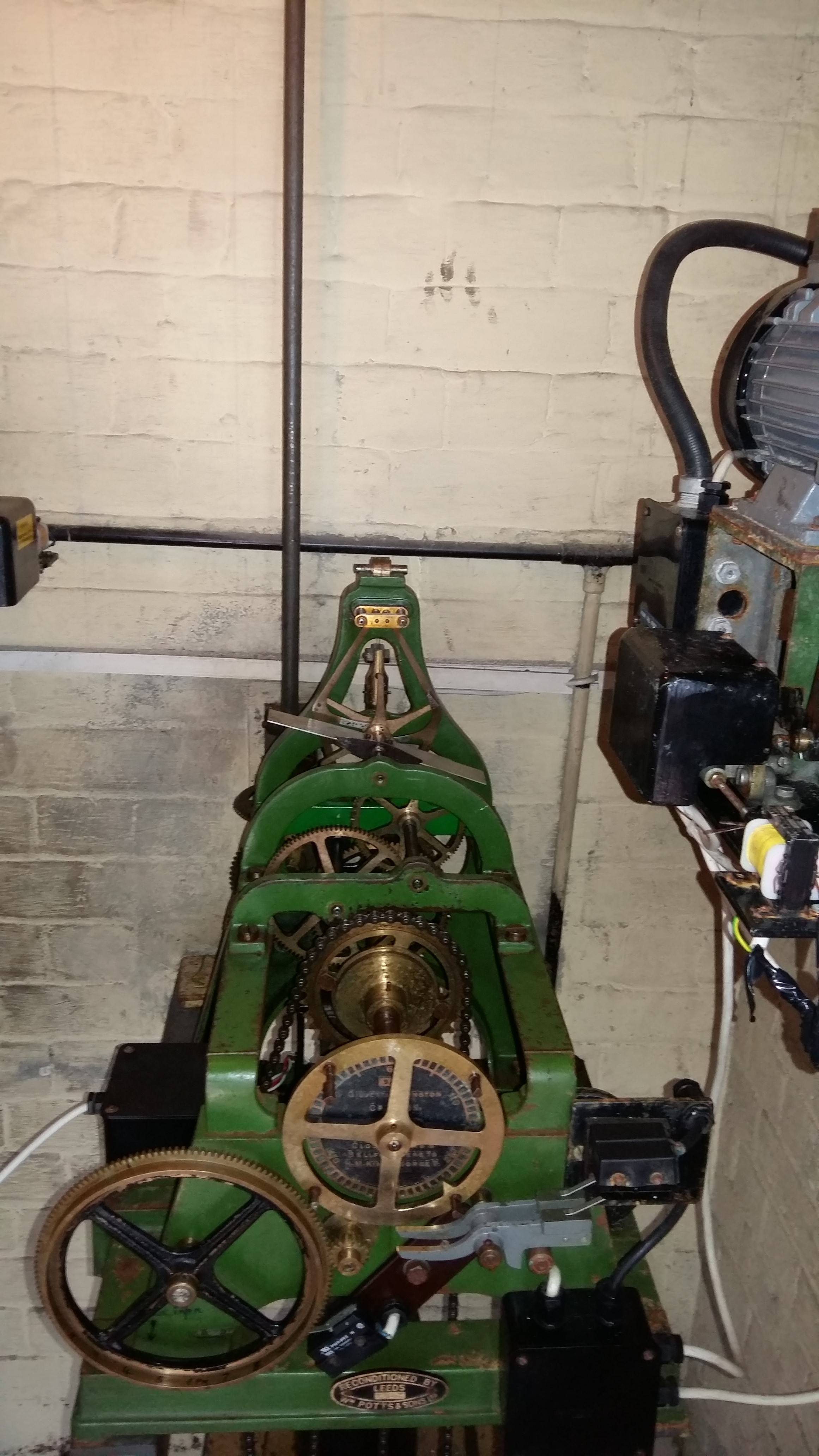 original clock mechanism