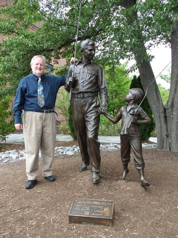 Mayberry Statue