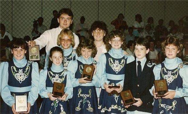 Ceili Team Placing at Nationals 1987