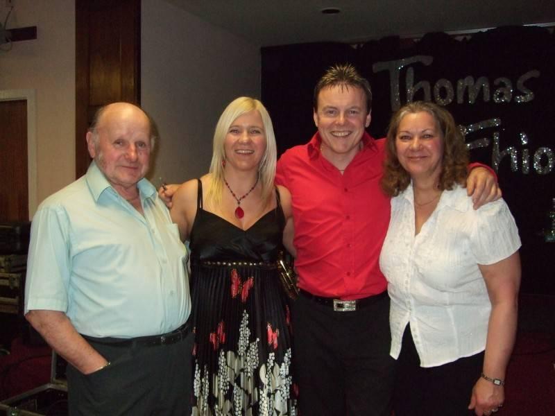 Colin & Patricia (Scotland) with FE&TM 2009