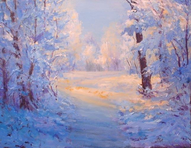 Winter path.