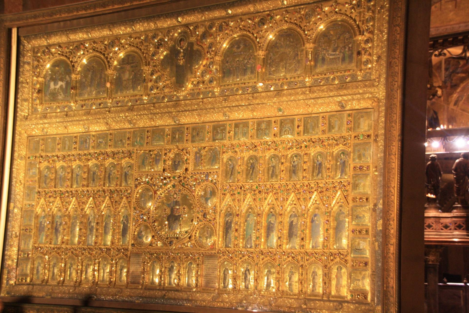 Gold alter at St. Mark's Basilica