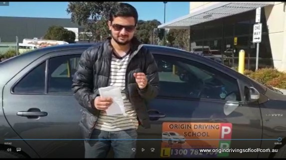 Heatherton VicRoads Pass First Time !! Well Done Subash Timilsena
